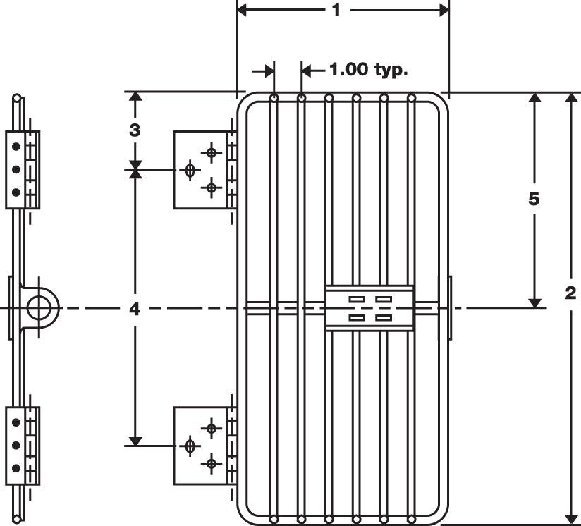 RPC Wire door drawing
