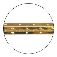 RPC continuous hinges