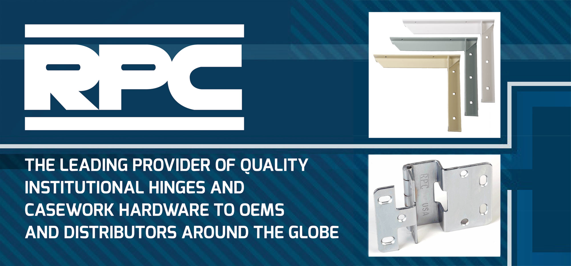 A leading provider of quality institutional hinges and casework hardware to oems and distributors around the globe including the Rockford Hinge..