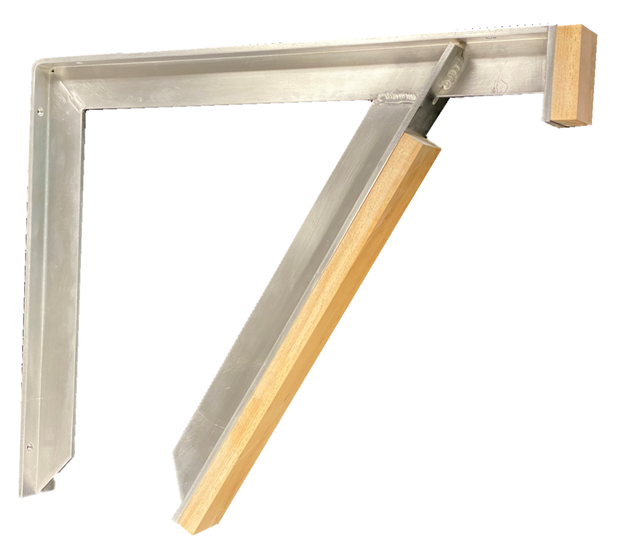 Aluminum Vanity Brackets